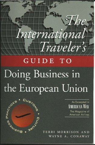 International Traveller's Guide to Doing Business in Europe N/A 9780028617565 Front Cover