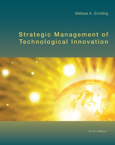 Strategic Management of Technological Innovation  3rd 2010 edition cover