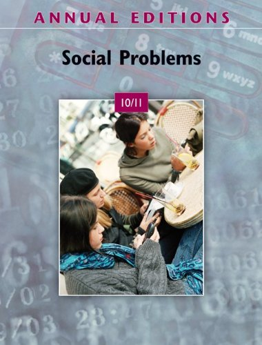 Social Problems 10/11  37th 2011 9780078050565 Front Cover
