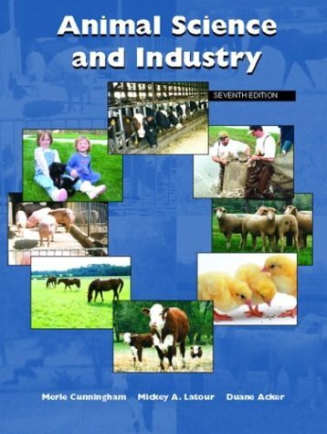 Animal Science and Industry  7th 2005 edition cover