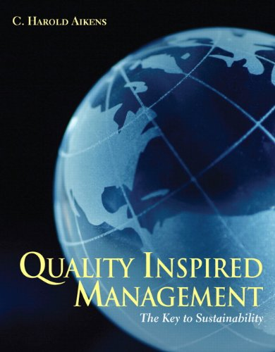 Quality Inspired Management The Key to Sustainability  2011 edition cover