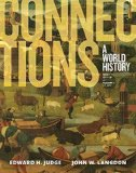 Connections A World History, Volume 1, Book Alone Plus NEW MyHistoryLab for World History, 3/e 3rd 2016 edition cover