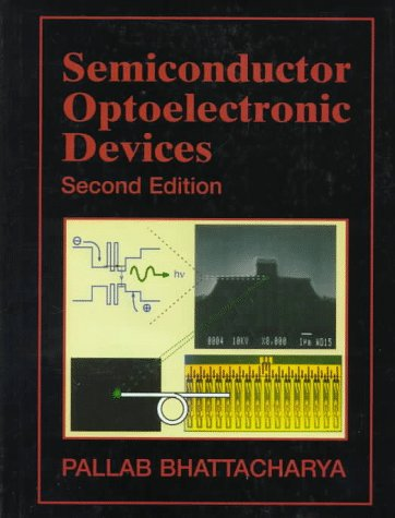 Semiconductor Optoelectronic Devices  2nd 1997 edition cover