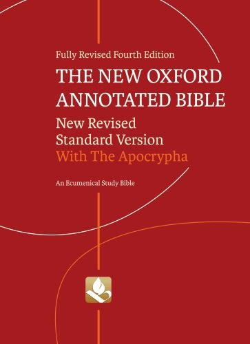 New Oxford Annotated Bible with Apocrypha  4th 2010 (Revised) edition cover