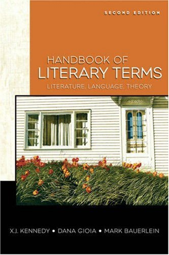 Handbook of Literary Terms Literature, Language, Theory 2nd 2009 edition cover