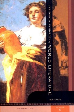 Norton Anthology of World Literature  2nd 2002 edition cover