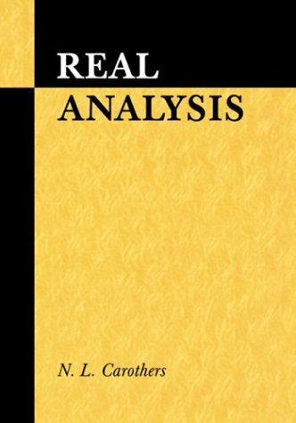 Real Analysis   2000 9780521497565 Front Cover