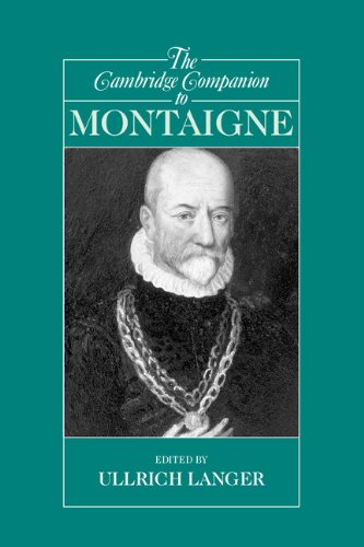 Cambridge Companion to Montaigne   2005 9780521525565 Front Cover