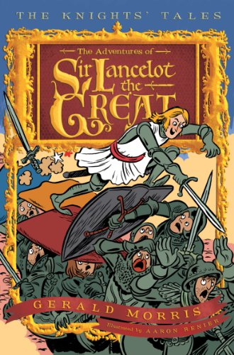 Adventures of Sir Lancelot the Great   2009 edition cover