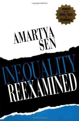 Inequality Reexamined   1992 9780674452565 Front Cover