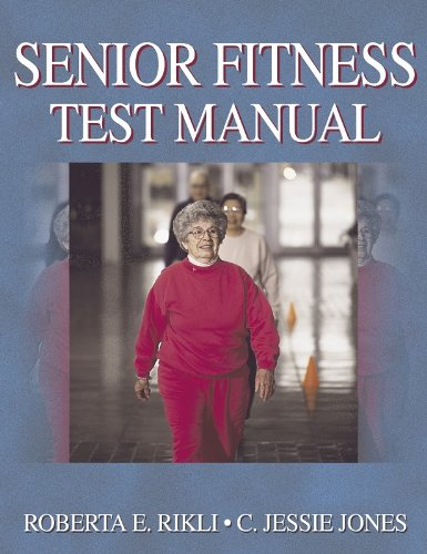 Senior Fitness Test Manual   2001 edition cover