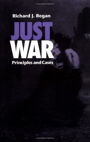 Just War Principles and Cases  1996 edition cover