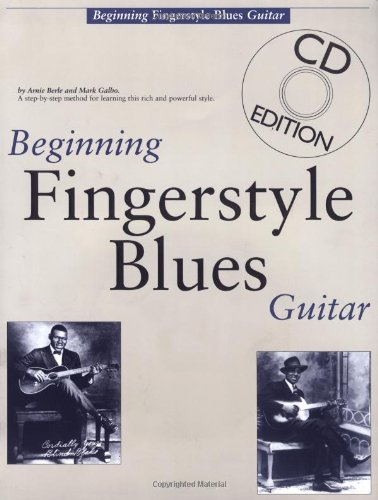 Beginning Fingerstyle Blues Guitar   1993 edition cover