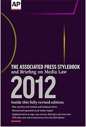 Associated Press Stylebook, 2012  47th edition cover