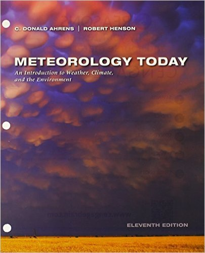 METEOROLOGY TODAY (LOOSELEAF)-W/ACCESS  N/A 9781305791565 Front Cover