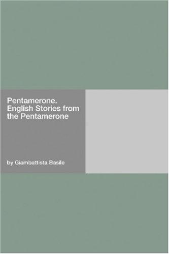 PENTAMERONE                             N/A edition cover