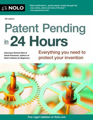 Patent Pending in 24 Hours  6th 2012 edition cover