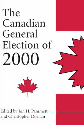 Canadian General Election Of 2000   2001 9781550023565 Front Cover