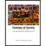 Systems of Society- (Custom)  7th 2000 (Student Manual, Study Guide, etc.) edition cover