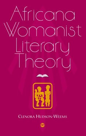 Africana Womanist Literary Theory   2003 edition cover
