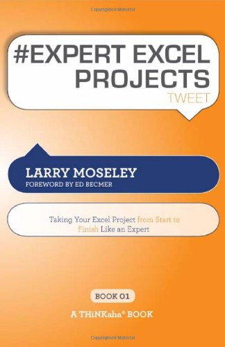 # Expert Excel Projects Tweet Book01: Taking Your Excel Project from Start to Finish Like an Expert  0 edition cover