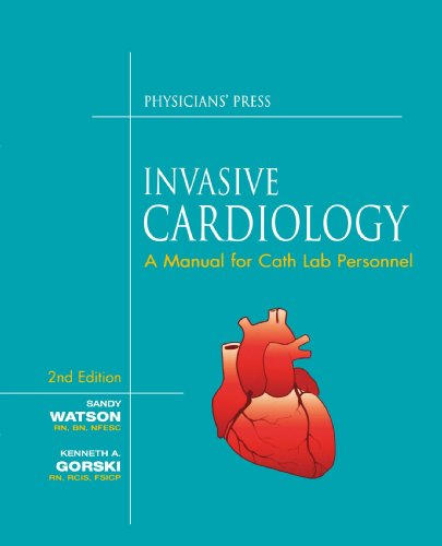 Invasive Cardiology A Manual for Cath Lab Personnel 2nd 2005 (Revised) edition cover
