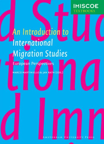 Introduction to International Migration Studies European Perspectives  2012 edition cover