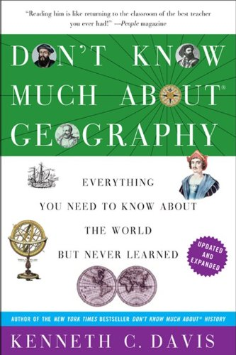 Don't Know Much about Geography Revised and Updated Edition  2013 edition cover