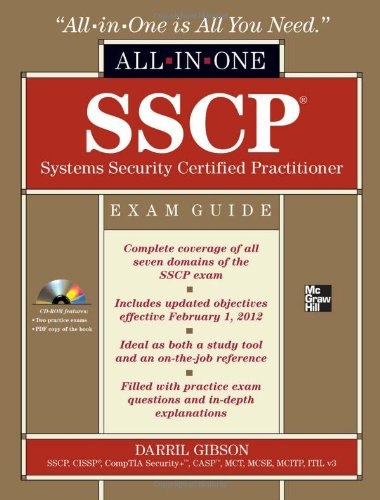 SSCP Systems Security Certified Practitioner   2012 edition cover