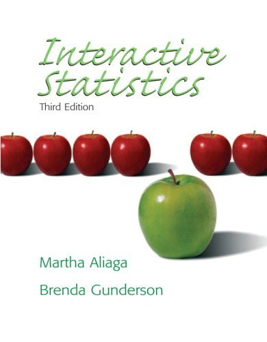 Interactive Statistics  3rd 2006 (Revised) edition cover