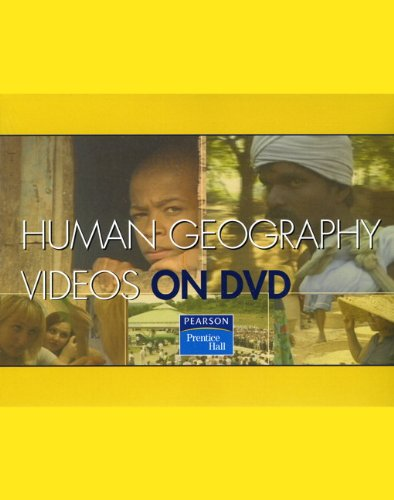 PH Human Geography Videos on DVD  2008 9780132416566 Front Cover