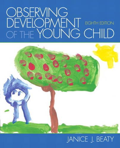 Observing Development of the Young Child  8th 2014 edition cover