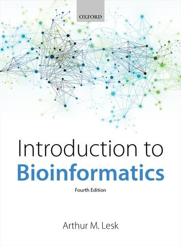 Introduction to Bioinformatics  4th 2013 edition cover