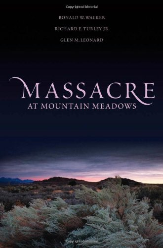 Massacre at Mountain Meadows   2011 edition cover