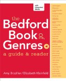 Bedford Book of Genres A Guide and Reader  2014 edition cover