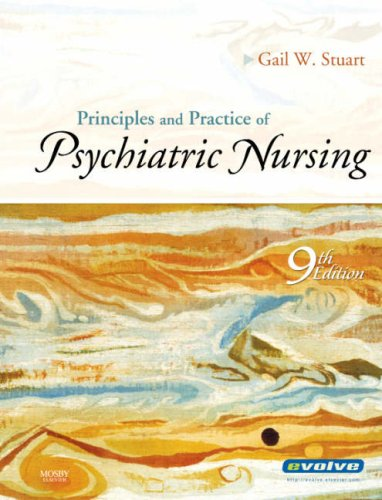 Principles and Practice of Psychiatric Nursing  9th 2009 edition cover