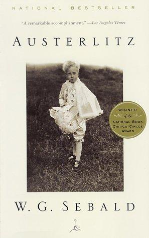 Austerlitz   2001 edition cover