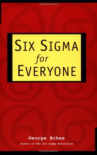 Six Sigma for Everyone   2003 edition cover
