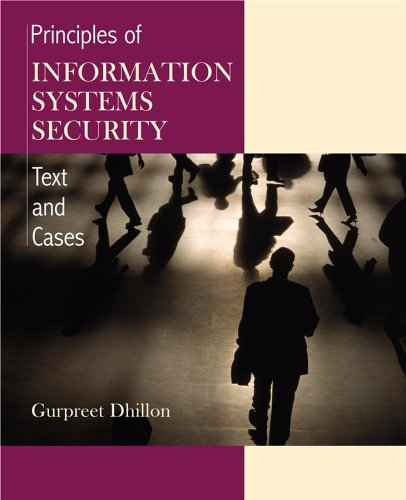 Principles of Information Systems Security Texts and Cases  2007 9780471450566 Front Cover