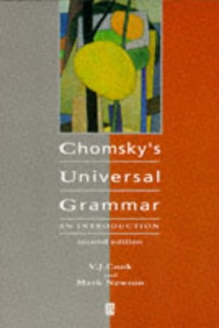 Chomsky's Universal Grammar An Introduction 2nd 1996 (Revised) edition cover
