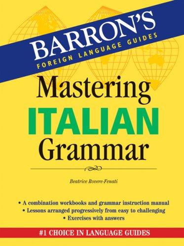Mastering Italian Grammar   2007 edition cover