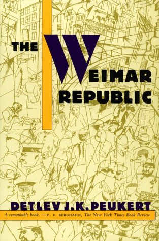 Weimar Republic  N/A edition cover