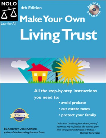 Make Your Own Living Trust  4th 2000 9780873375566 Front Cover