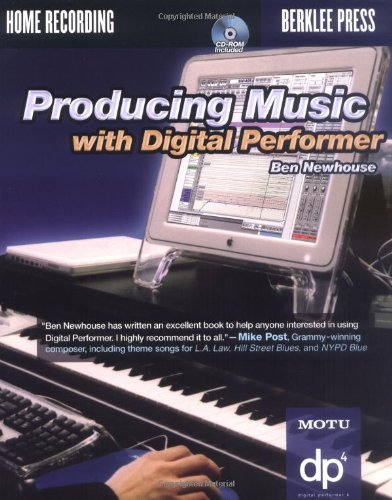 Producing Music with Digital Performer   2004 edition cover