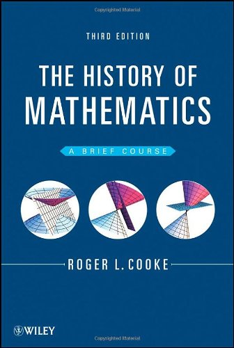 History of Mathematics A Brief Course 3rd 2013 edition cover