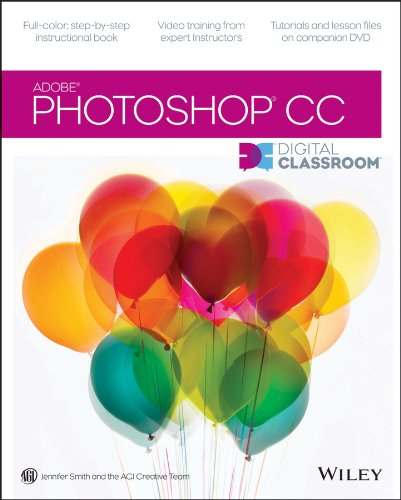 Photoshop CC Digital Classroom   2013 edition cover