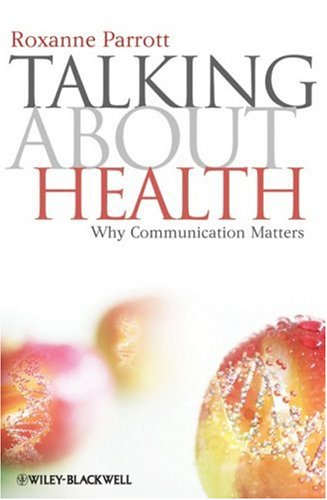 Talking about Health Why Communication Matters  2009 edition cover