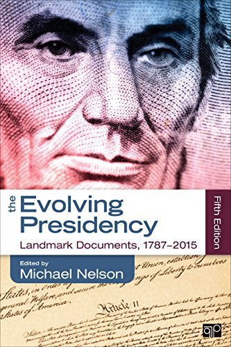 The Evolving Presidency: Landmark Documents, 1787 - 2014  2015 edition cover