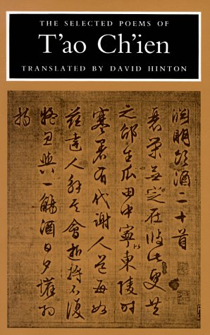 Selected Poems of T'ao Ch'ien  N/A edition cover