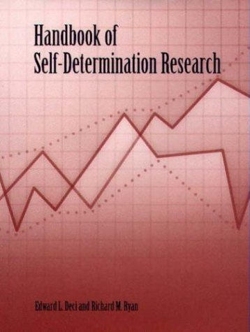 Handbook of Self-Determination Research   2004 edition cover